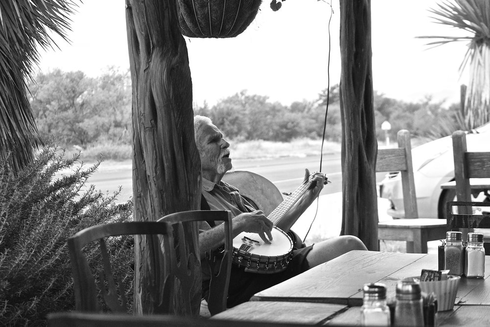 Marathon Coffee Shop, Marathon, Texas.