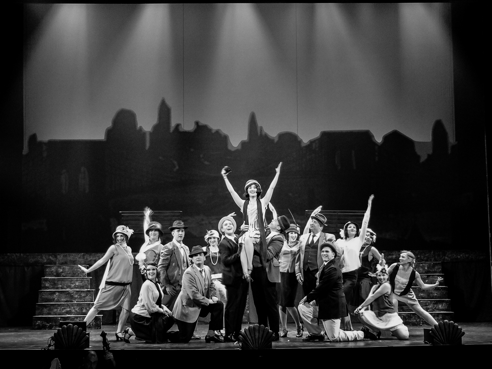 Thoroughly Modern Millie - Victoria Operatic Society - Victoria, BCMay 2014Director/Choreographer: Jessica HickmanMusic Director: Heather BurnsTimes Colonist Review