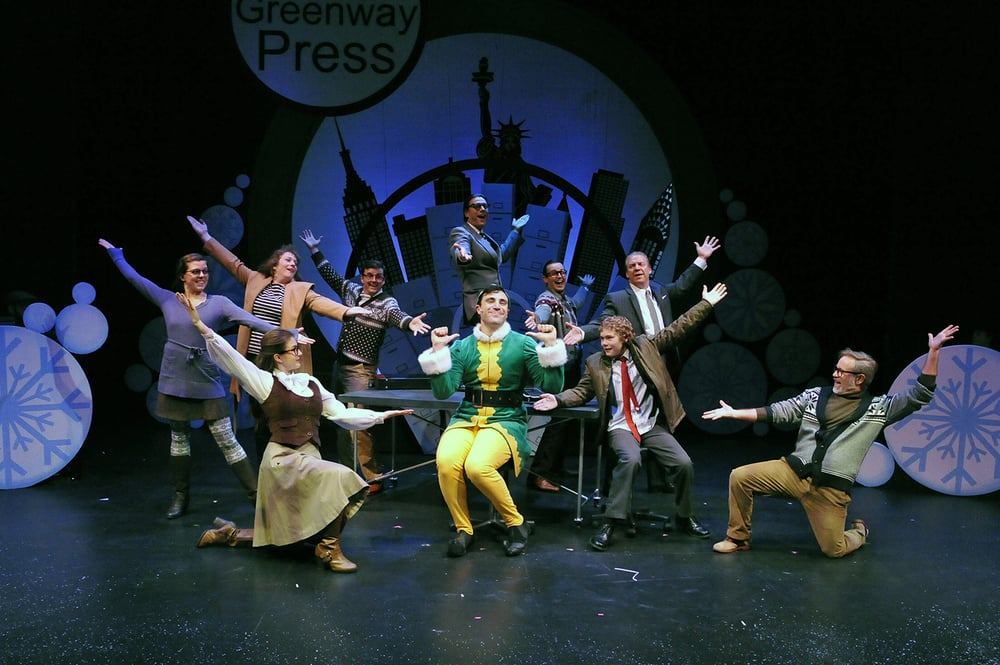 Elf: The Musical - Chemainus Theatre Festival - Chemainus, BCDecember 2016Director: Mark DuMez - Music Director: Brad L'EcuyerChoreographer: Jessica HickmanJanis Lacouvee - review