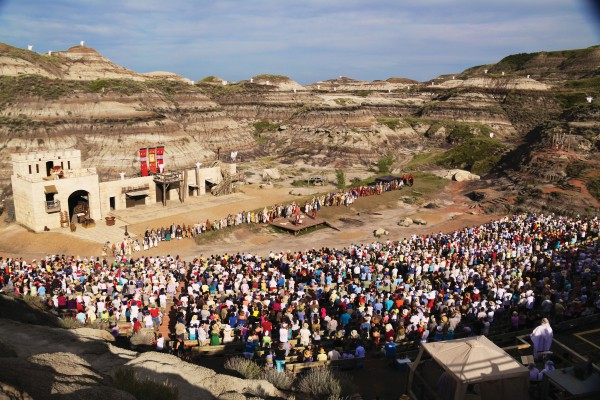 The Canadian Badlands Passion Play - Outdoor Amphitheatre (seats 2500) - Drumheller, ABJuly 2014, 2015 & 2017Co-Directors: Jessica Hickman & Barrett HielmanCrowd Director: Jessica HickmanFight Director: Kevin Robinson