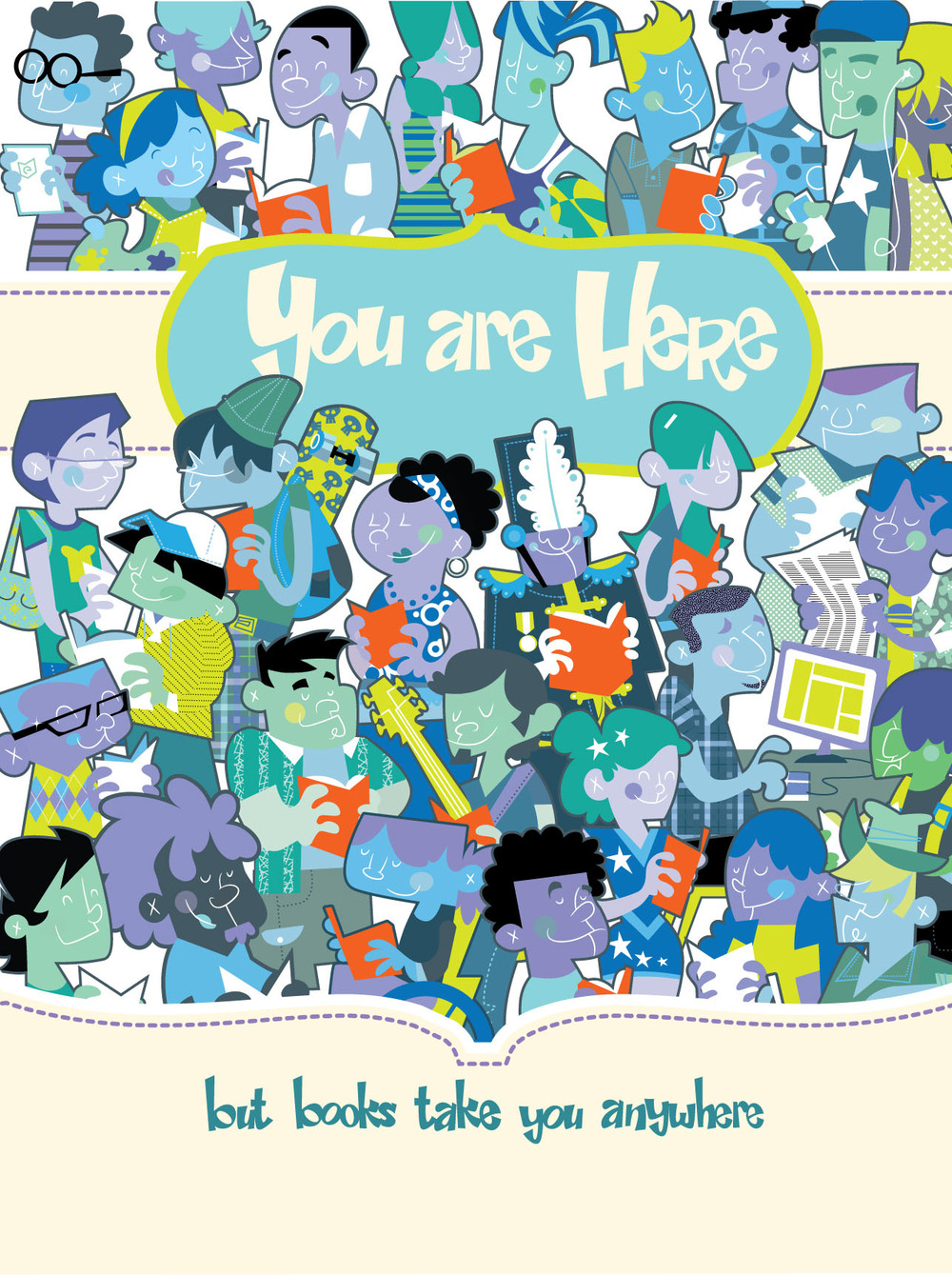 You Are Here, West Virginia Reading Program