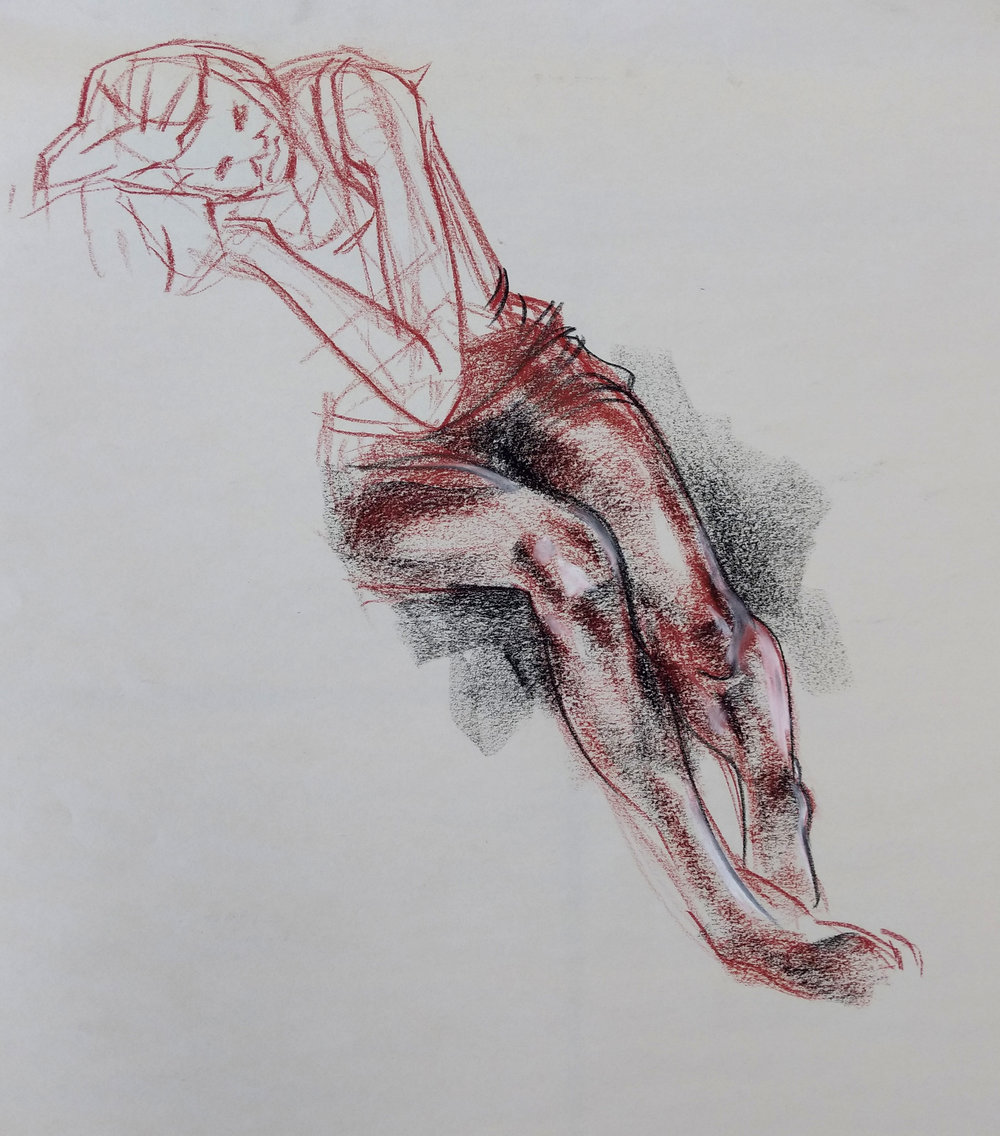Foreshortened Leg