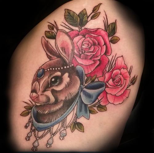 katie jackalope tattoo