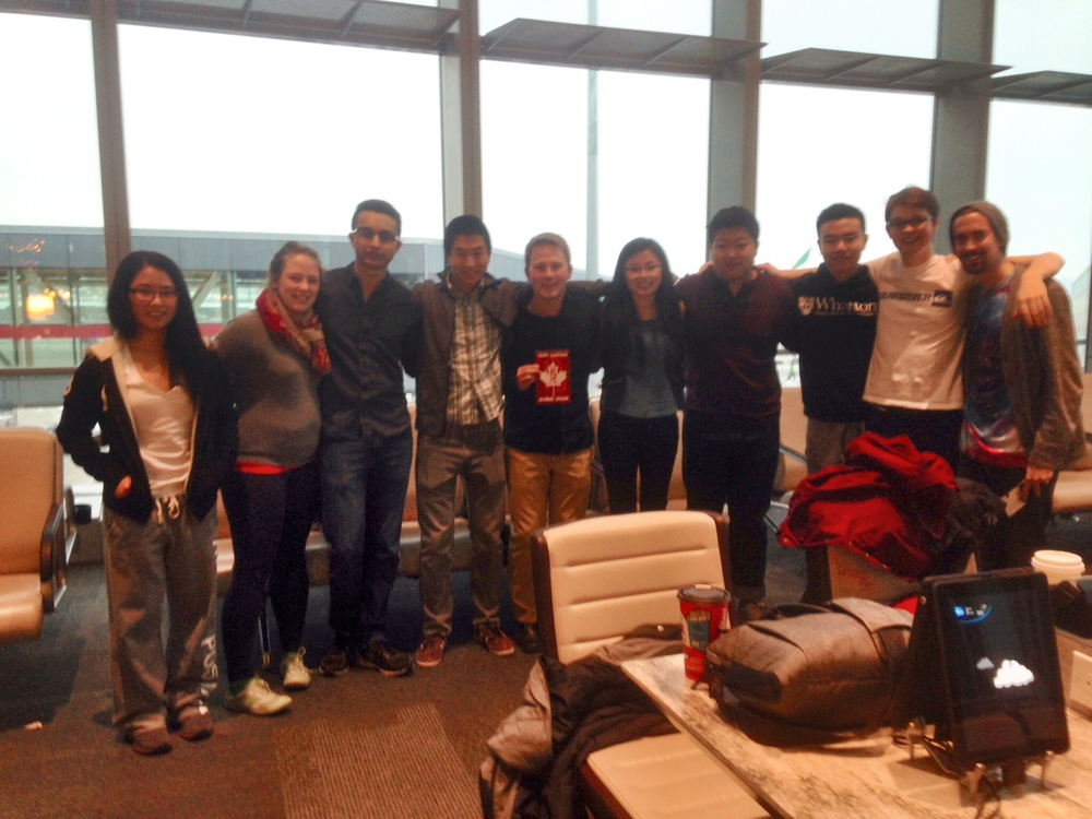 JTC Peru 2015 embarking on their journey to Peru on Wednesday, February 11th.