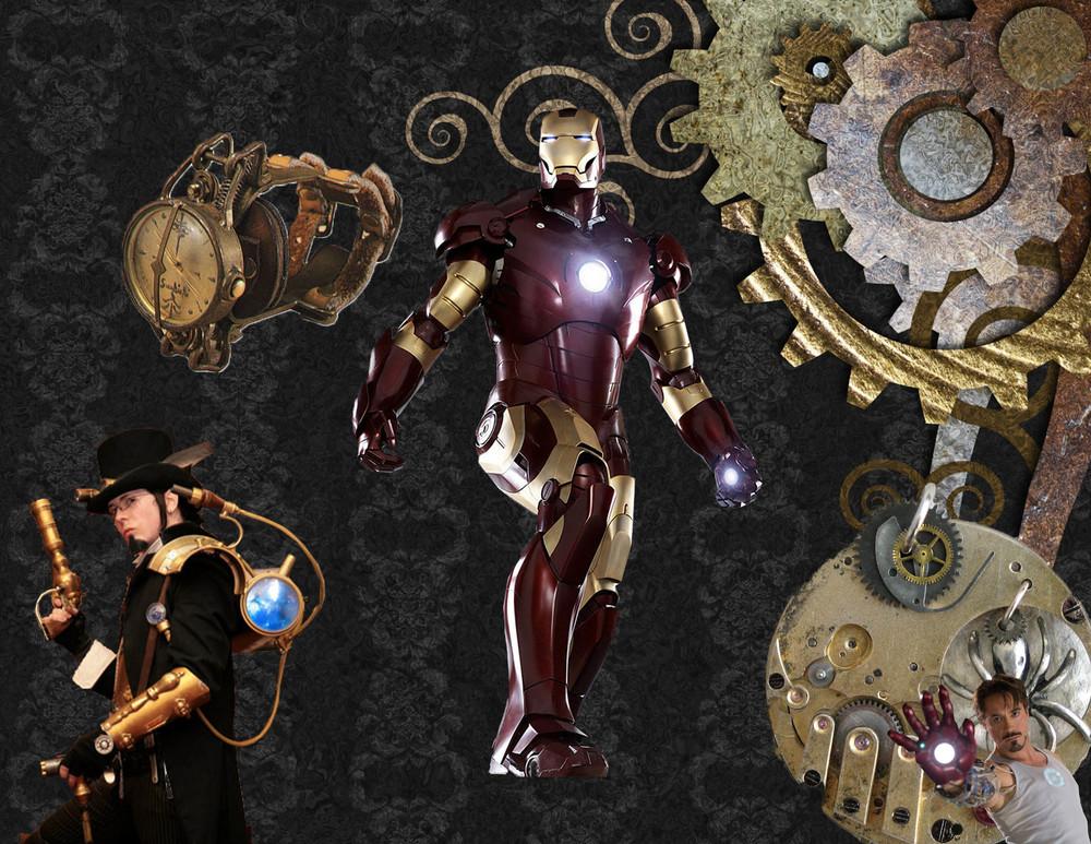 Theme 1:Ironman + Steampunk