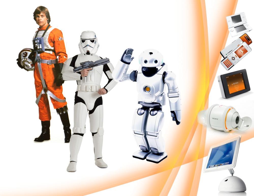 Theme 2: Star Wars + Futuristic