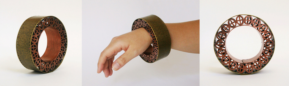 Bracelet      Material: Brass, Copper