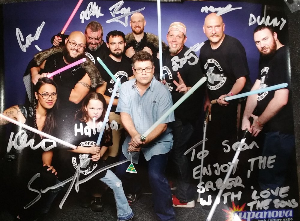 Sean Astin, Stranger things, Lord of the Rings, Goonies, Supanova Sydney, 2016