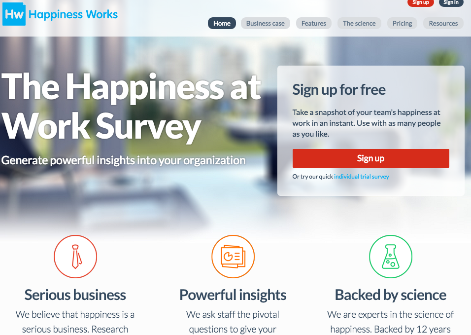 Happiness at Work Survey