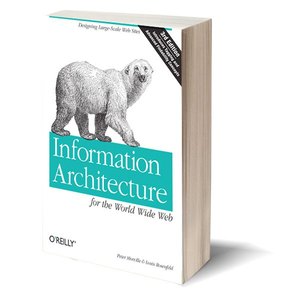 Information Architecture for the World Wide Web, 3rd ed 2006. Peter Morville and Louis Rosenfeld.