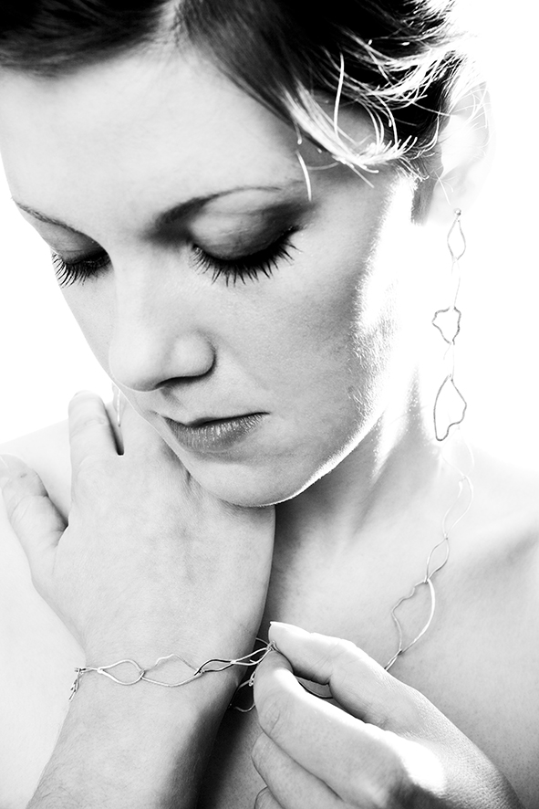Linked Wings Necklace, Earrings and Bracelet   image by PSD Photography