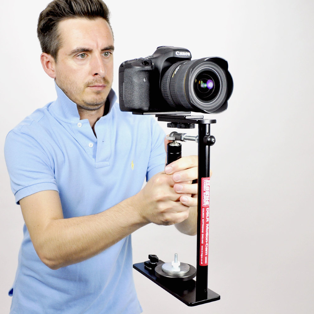 how to hold a steadicam