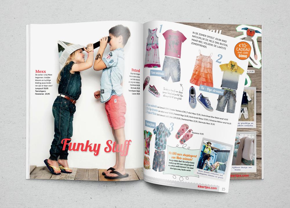 fashion magazine kleertje.com retail design