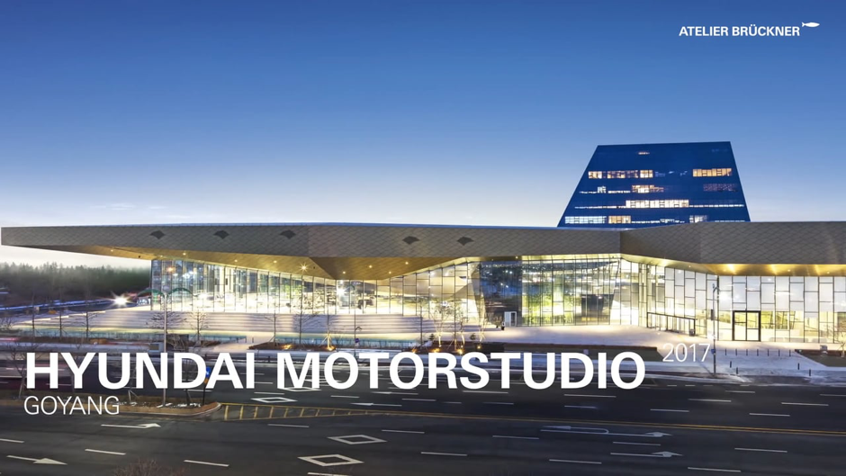 The Hyundai Motorstudio in Goyang, just outside Seoul, South Korea. A flagship brand expereince space