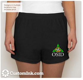 OSID Youth & Adult Shorts $23.20 (if at least 15 are ordered)