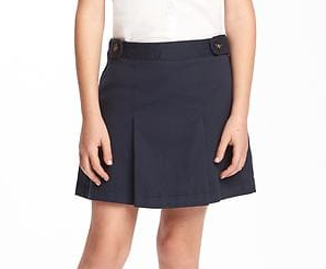 Navy Skirt $15.00 By Old Navy