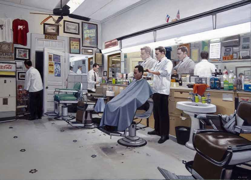 """""""The Barber Shop - The Avenue"""""""