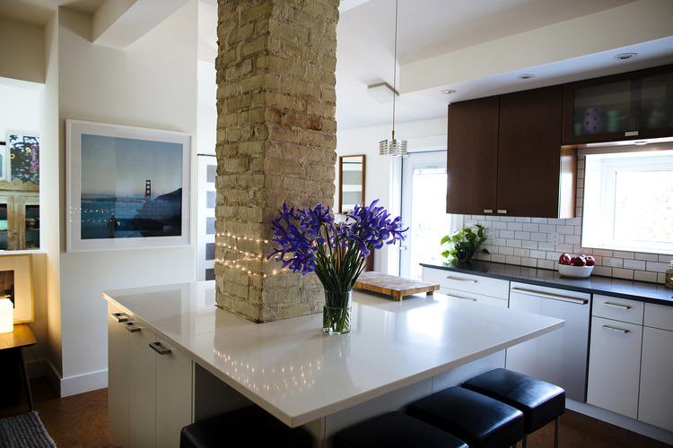 Kitchen Design : Island or a Peninsula? — GreenSlade Bath | Kitchen ...