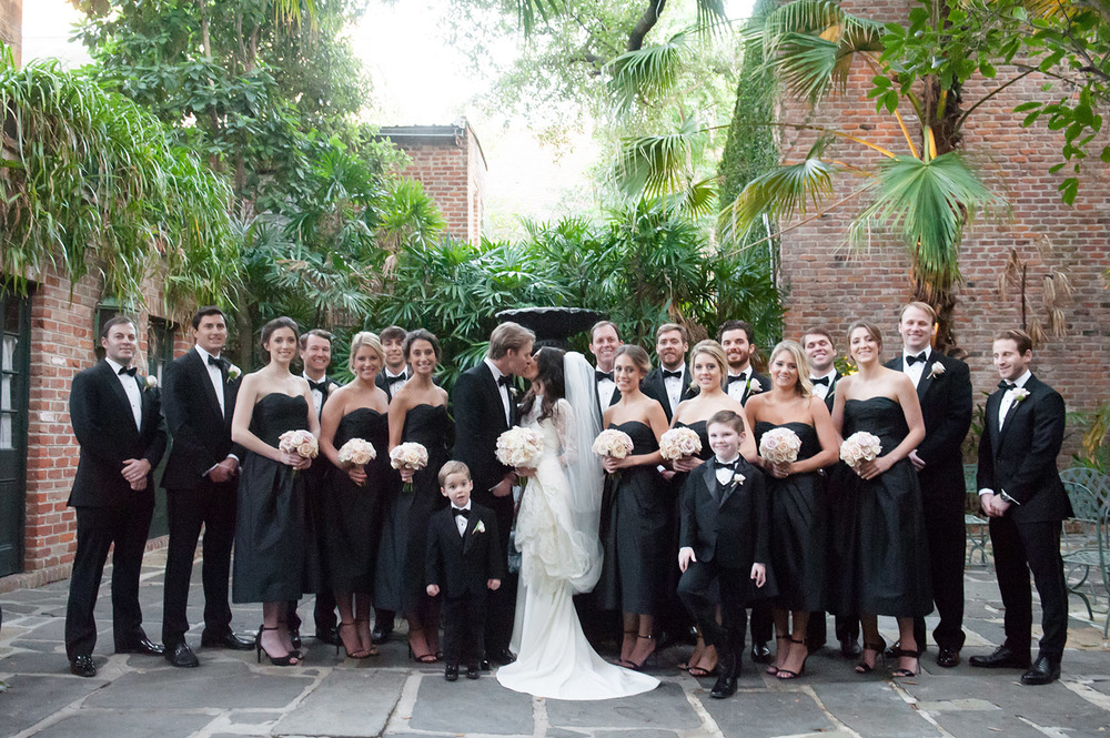 sapphireevents.com | New Orleans Wedding Planner and Designer | Black Tie Wedding at French Quarter's Old Ursuline Convent | Sapphire Events