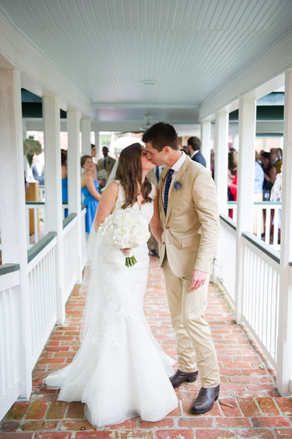 Sapphire Events | Catherine Guidry Photography | Wedding Planning | New Orleans Wedding | Stella Plantation Wedding | Blue and White Wedding | Classic Rainy Day Wedding | Outdoor Wedding | Tent Wedding | Hunter Boots | Blue and White Wedding Details