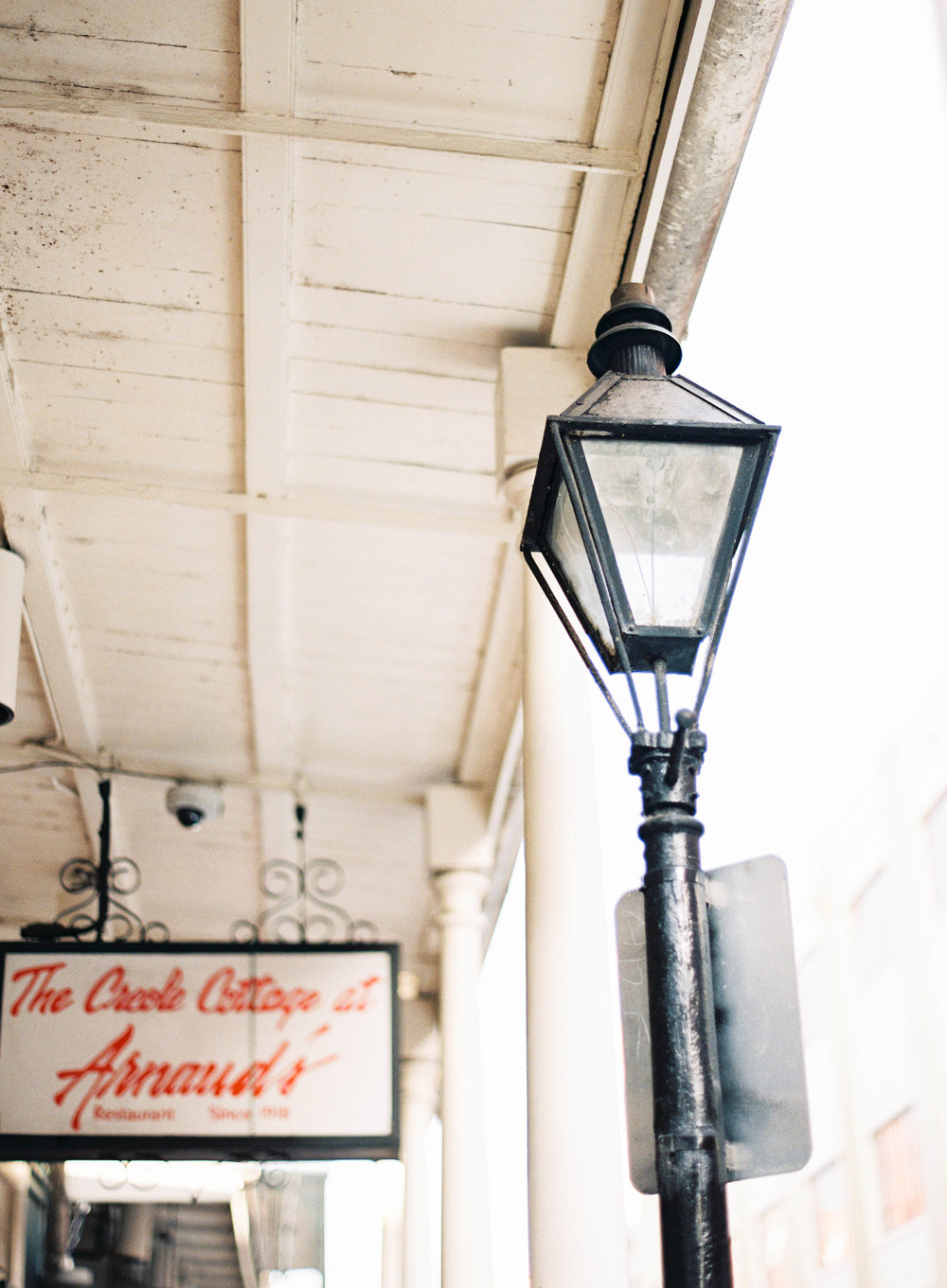 Architecture of the French Quarter | 50th Anniversary Golden Celebration | Sapphire Events | Marissa Lambert Photography | Arnaud's Restaurant | French 75 |