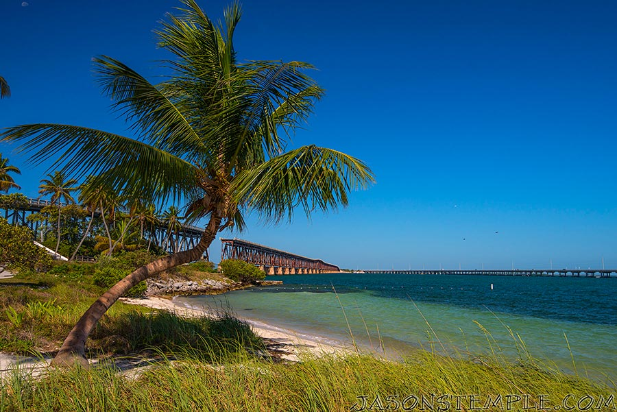 the bahia honda bridges on a sunny may day. nikon d800, 32mm, f/8, 1/400 sec