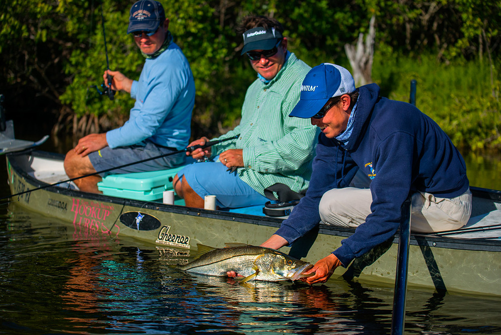 The everglades offers some of the best snook fishing in the world