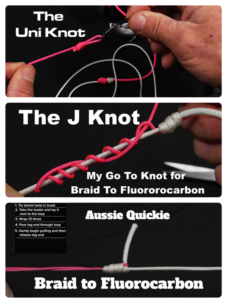 Top 3 Fishing Knots For Braided Line To Fluorocarbon Leader
