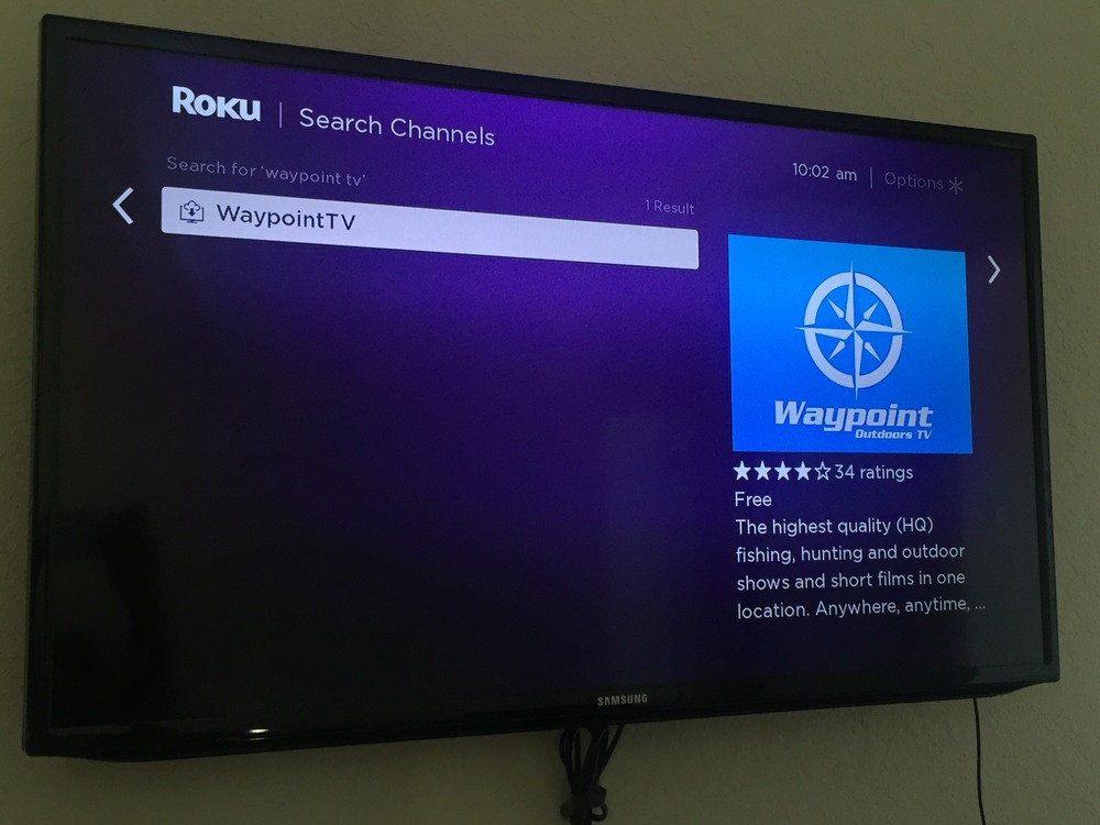 Waypoint TV on Roku