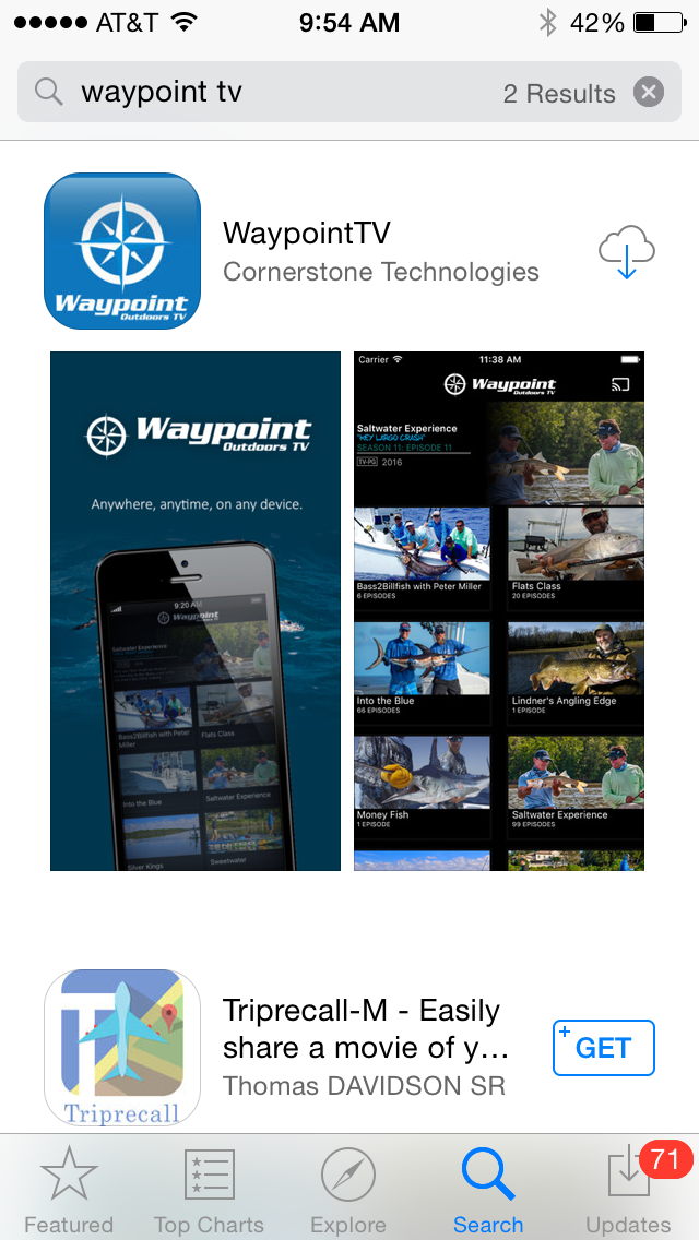 Download Waypoint TV on the App store