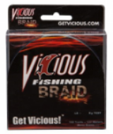 Vicious braid is our first choice when it comes to using braid.