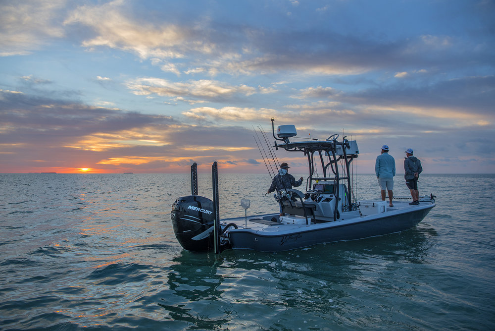 daniel-andrews-with-saltwater-experience-watches-the-sunrise-in-florida-keys