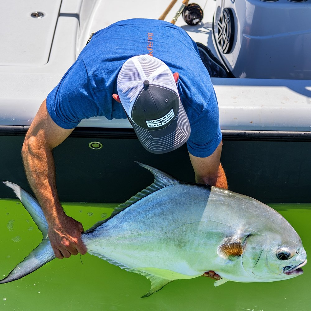 Catching a Bonefish, a Permit and a Tarpon in one day is a Grand Slam. The Florida Keys is one of the best places in the world to get one.