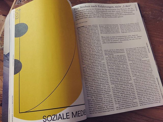 I wrote an article about our social media obsession. It's in the brand new @downdays_eu  print magazine. Take your time for a really good read and pleeeaaasee give me those likes!!