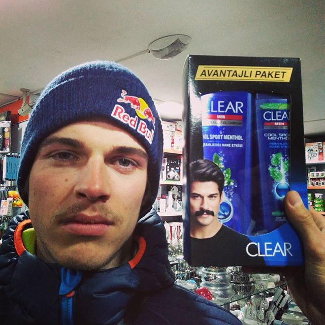Moustache vs. REAL moustache  #snowmads in Turkey @fabian_lentsch
