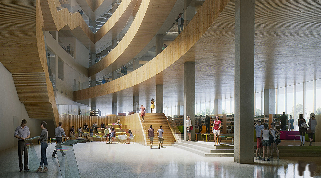 New Central Library CMLC