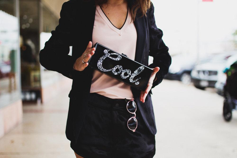 Edie Parker 'cool' clutch