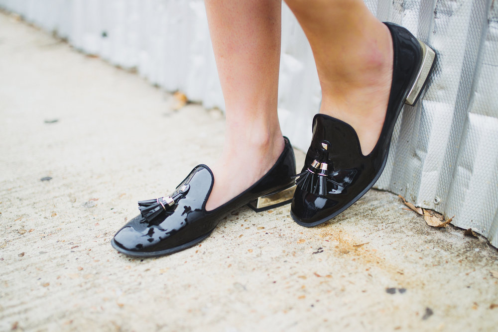 Zara smoking slippers