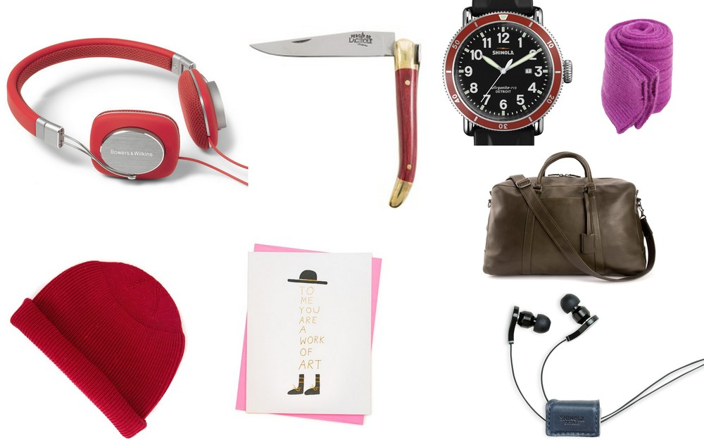 A Valentine's day gift guide for all your guy crushes