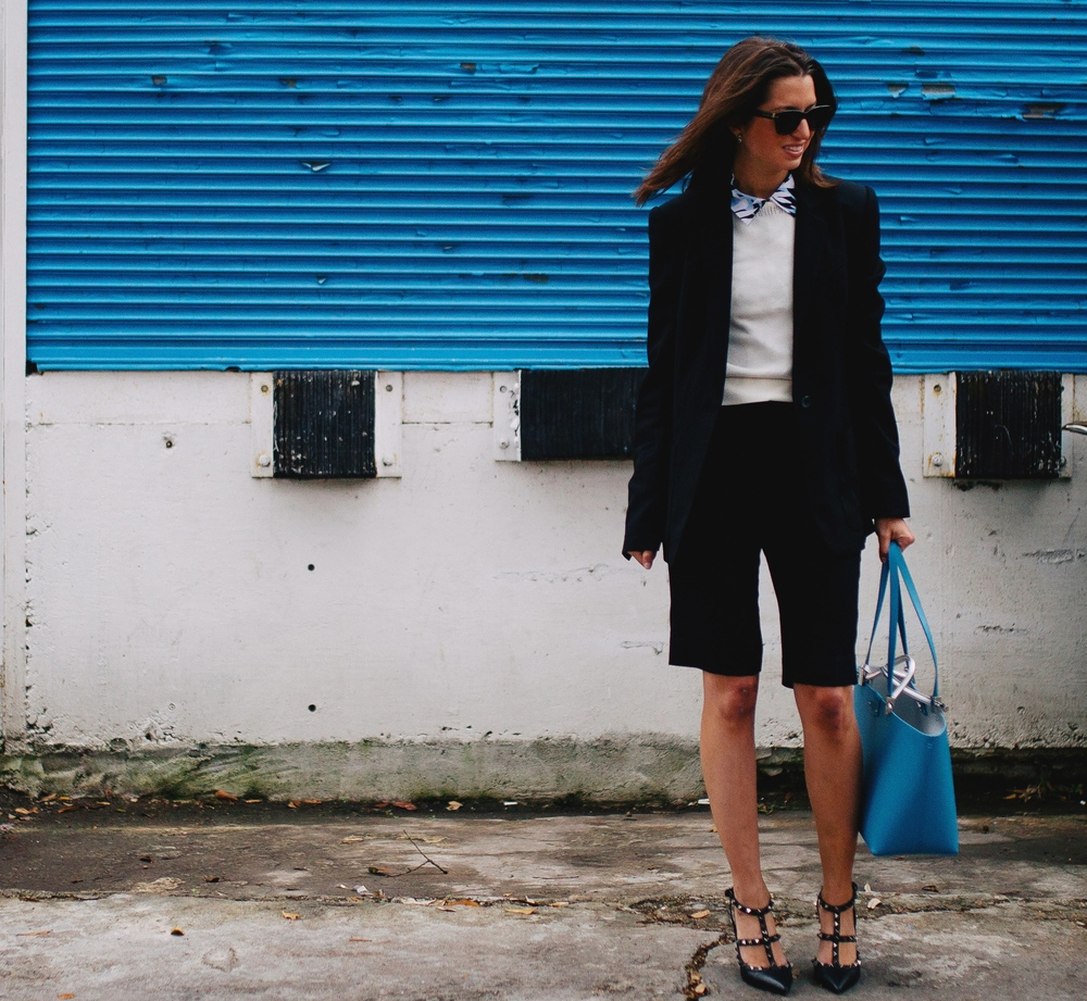 L 'Agence short suit perfect for the office