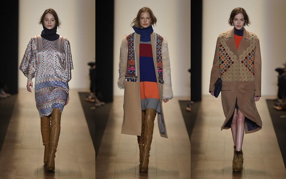 BCBG runway fashion week a/w 2015