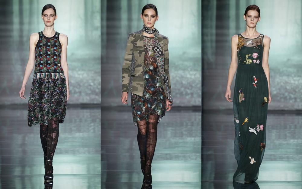 Nicole Miller fashion week a/w 2015