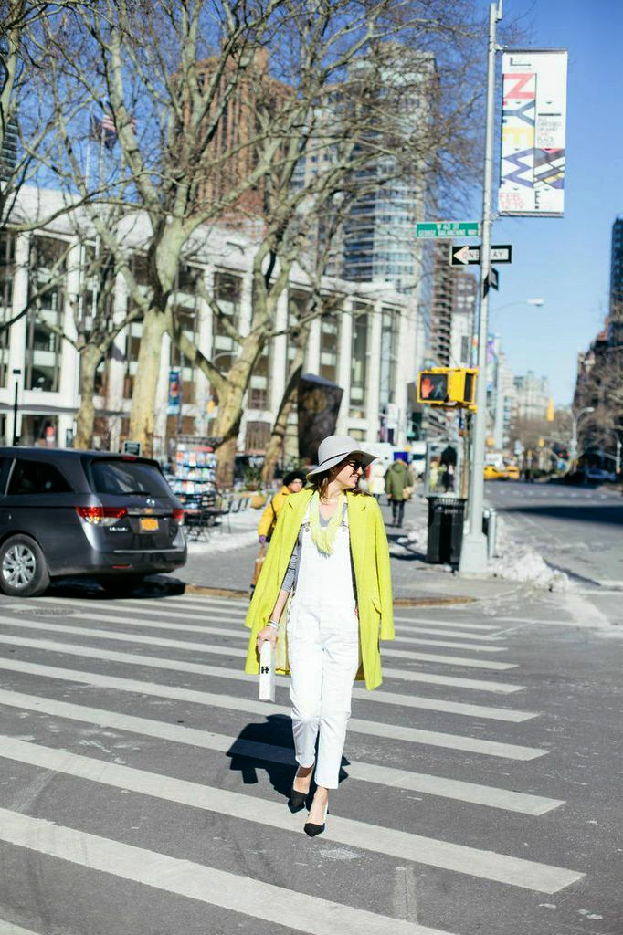 White overalls for spring www.theshoediet.com