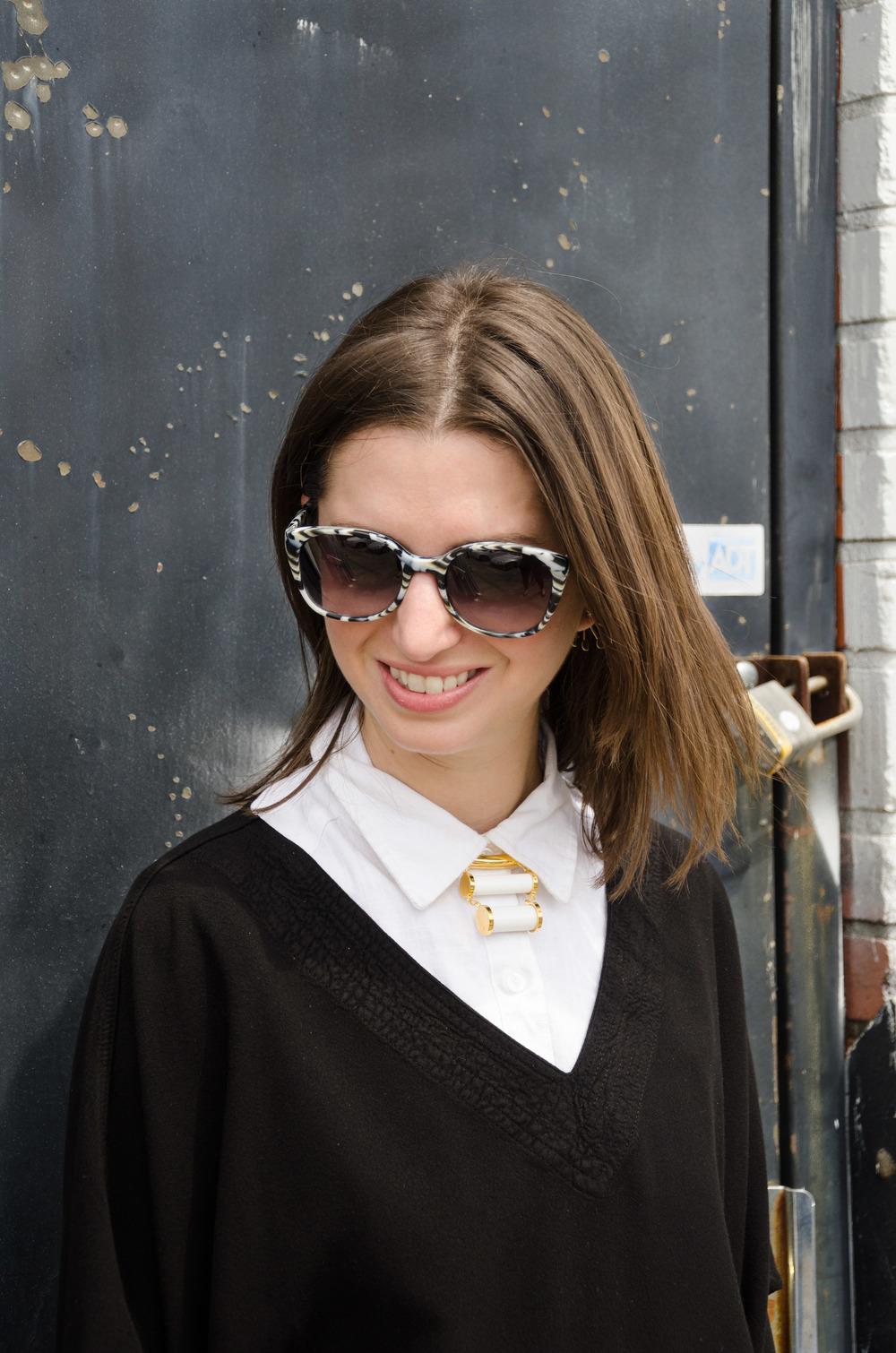 Lizzie Furtunato collar