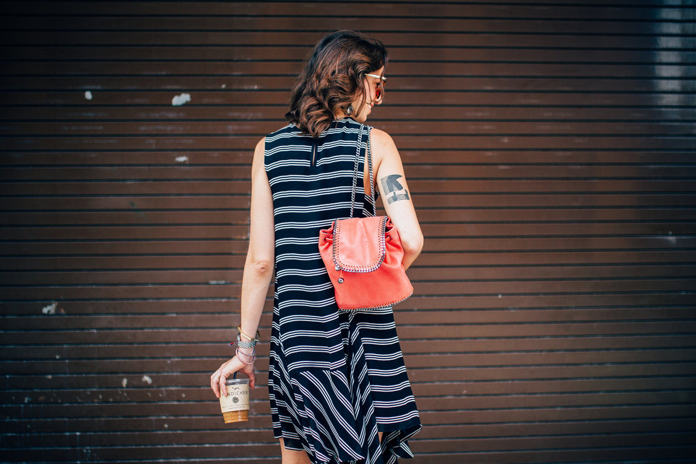 A.L.C. striped dress for summer