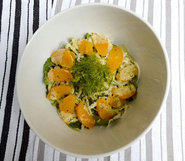 Orange & fennel salad - The Shoe Diet