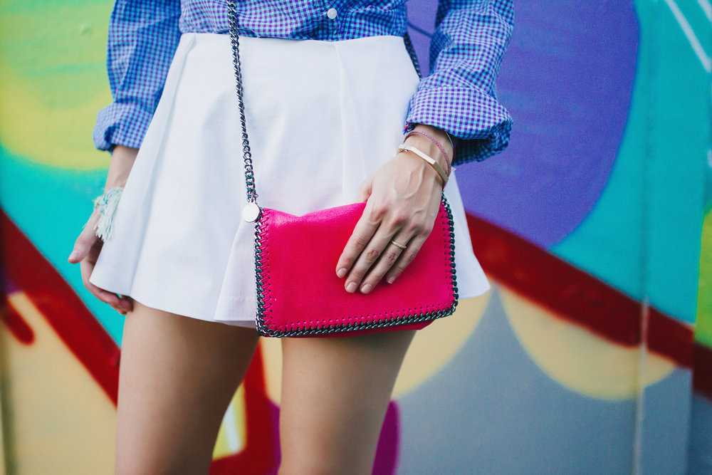 Stella McCartney hot pink cross body by The Shoe Diet