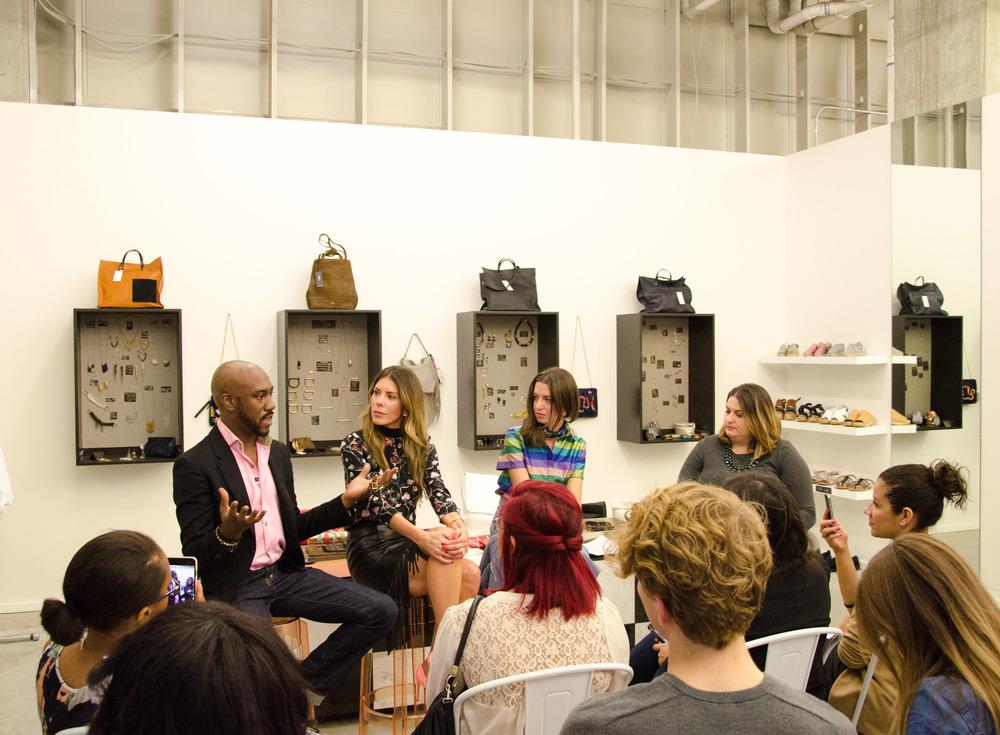 Saint Cloud discussion panel