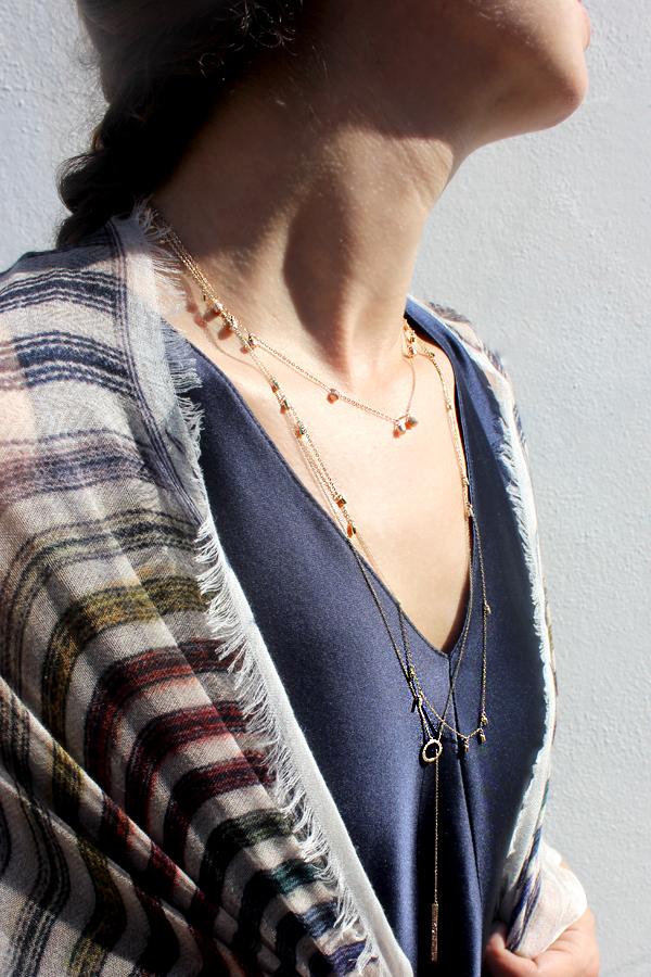 Tamar Mendelssohn The Shoe Diet Lee Jones diamond necklaces