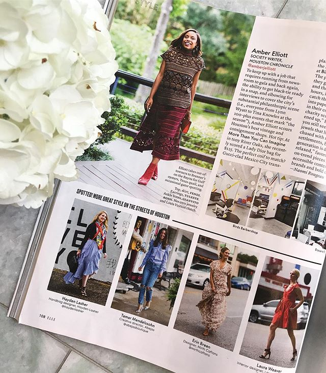 Look in the tiny square second to left *squint* IT ME. That was a fun day of street walking in the rain with @mirthcaftans @gailstudio @elleusa + more